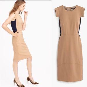 J Crew Rare Colorblock Resume Dress